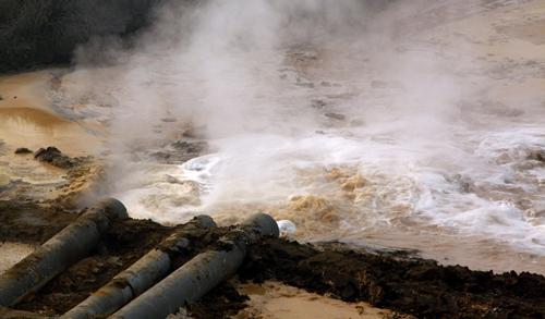 Waterverontreiniging bij Baotou