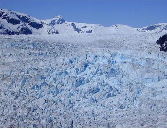 Lemon Creek gletsjer