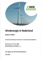 Download: Rapport Windenergie in Nederland, Kosten en Baten