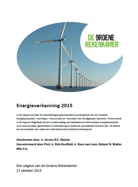 Energieverkenning 2015