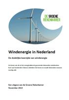 De dodelijke keerzijde van windenergie