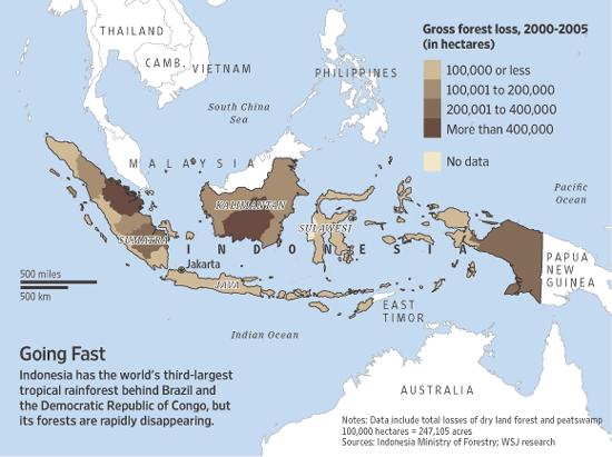 Super Indonesische eilanden blijven last houden van bosbranden - De LI-05