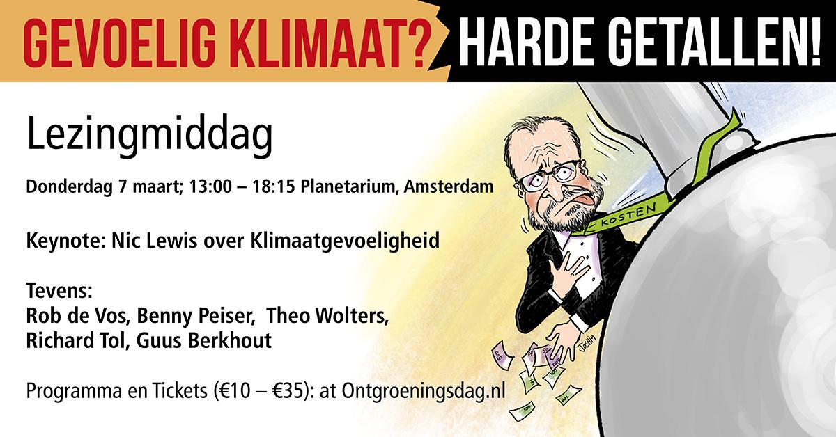 Guus Berkhout Climate Intelligence toelichting samen met Marcel Crok