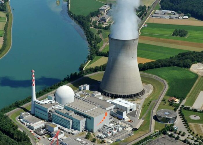 Nucleaire centrale in Zwitserland