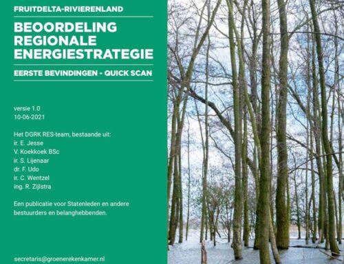 Persbericht: GRK analyseert RES Gelderland-Rivierenland