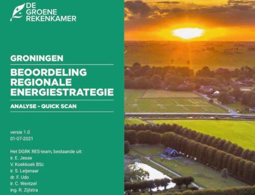 Persbericht: GRK analyseert de RES Groningen.